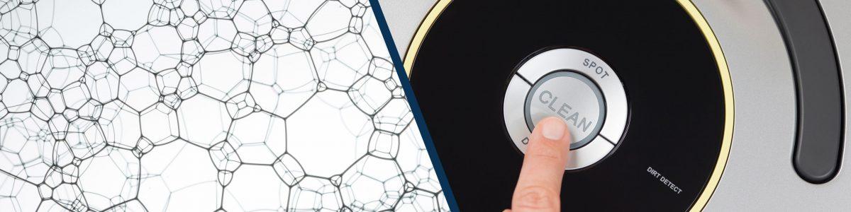 nanotechnologie en schoonmaakrobot